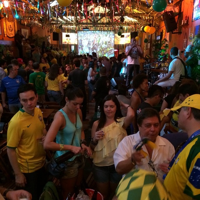 Looks like a good place to watch the Brazil game.