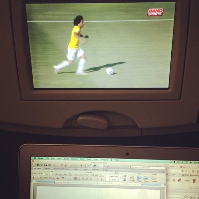 I mean, how is anyone supposed to get any work done when #worldcup highlights have penetrated even airplanes?
